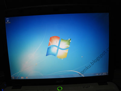 Windows 7 installed