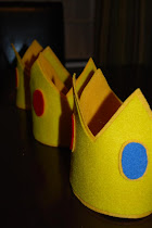 Making Felt Crowns