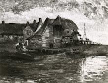 Van Gogh...Water Mill at Gennep 1