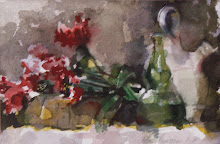 Still Life with Jug and Poppies