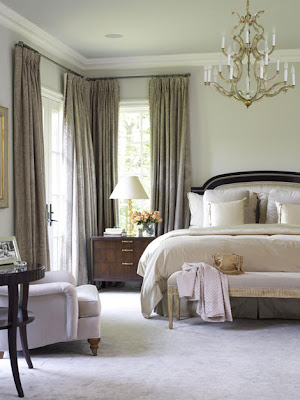 calm retreat for yourselves. This beautiful bedroom is very serene