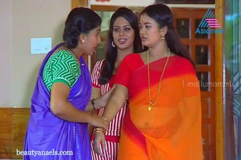mallu malayalam aunty: Tv Serial Hot Malayalam Actress in Saree