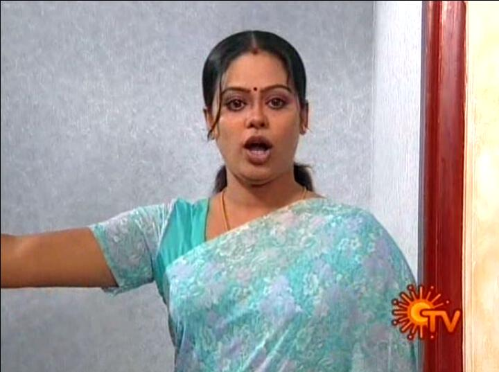 TV Actress Devipriya sexy open mouth pose