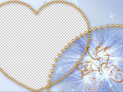 plantilla de corazones adobe photoshop plantilla para bodas adobe ...