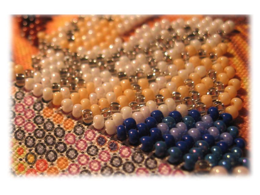 Сколько стоит работа вышивкой бисером 26