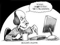 blogger blogging