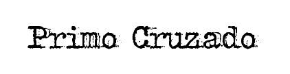 Primo Cruzado