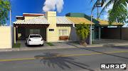 Maquete 3D para Arquitetura e Engenharia.: Casa de Classe Média