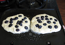 Blueberry Pancake Morning