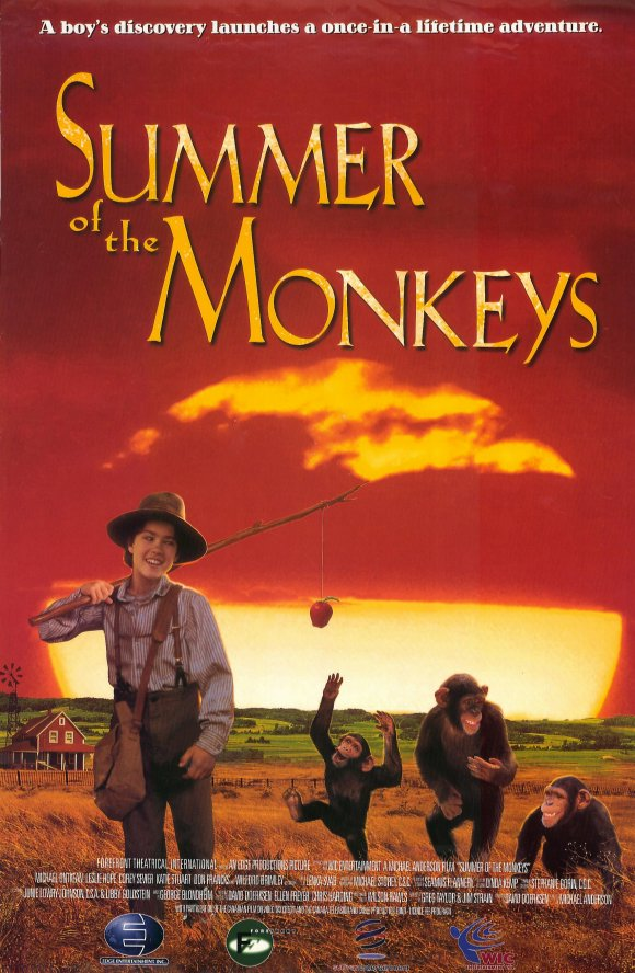 summer of the monkeys jay berry The monkeys are all intoxicated and they accept jay berry's attempt at friendship, offering him whiskey as a gift in return as a result, jay berry ends up drunk and returns to his family, who are appalled by the state he is in.