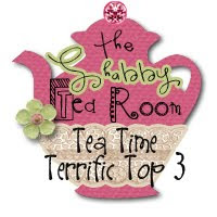 "Top 3 at ""The Shabby Tea Room"" for week 12 and 13!"