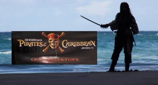 The teaser trailer of pirates of the caribbean 4 was shown during the
