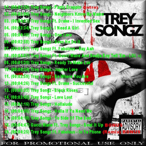 trey songz ready tracklist. makeup Tracklist: Trey Songz