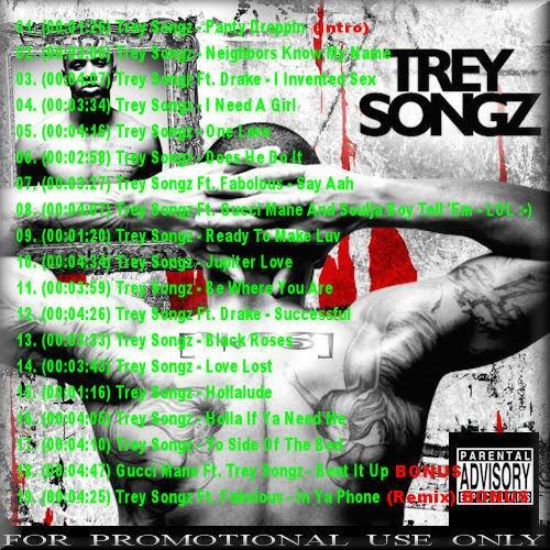 trey songz ready tracklist. Artist : Trey Songz