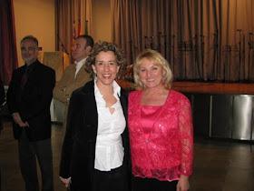 Con Aina Calvo ex alcaldesa de Palma