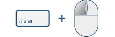 Chrome'da klavye ve fare kısayolları