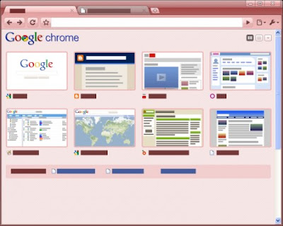 Google Chrome Candy Tema