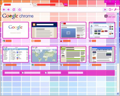 Google Chrome Colorchips Tema