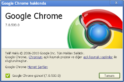 Google Chrome 7.0.503.0