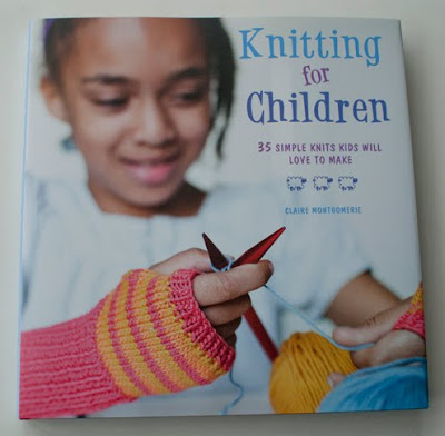 I've finally received the first copy of my new book, Knitting for Children,
