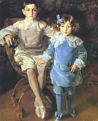 Carlos y Eulalia Urcola, Joaquín Sorolla