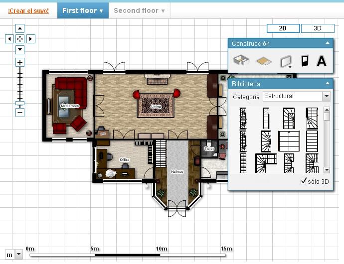 Crea tus planos en linea remodelaciones for Planos en linea