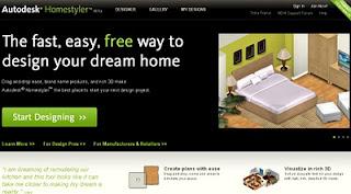 Autodesk Homstyler, remodelaciones en linea y gratis
