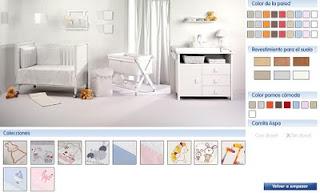 Decora la habitación de tu bebe en linea