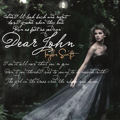 Dear John Taylor Swift on Taylor Swift   Dear John Lyrics