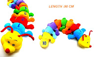 Toy -Learning Caterpillar (1-10) ~length 98cm