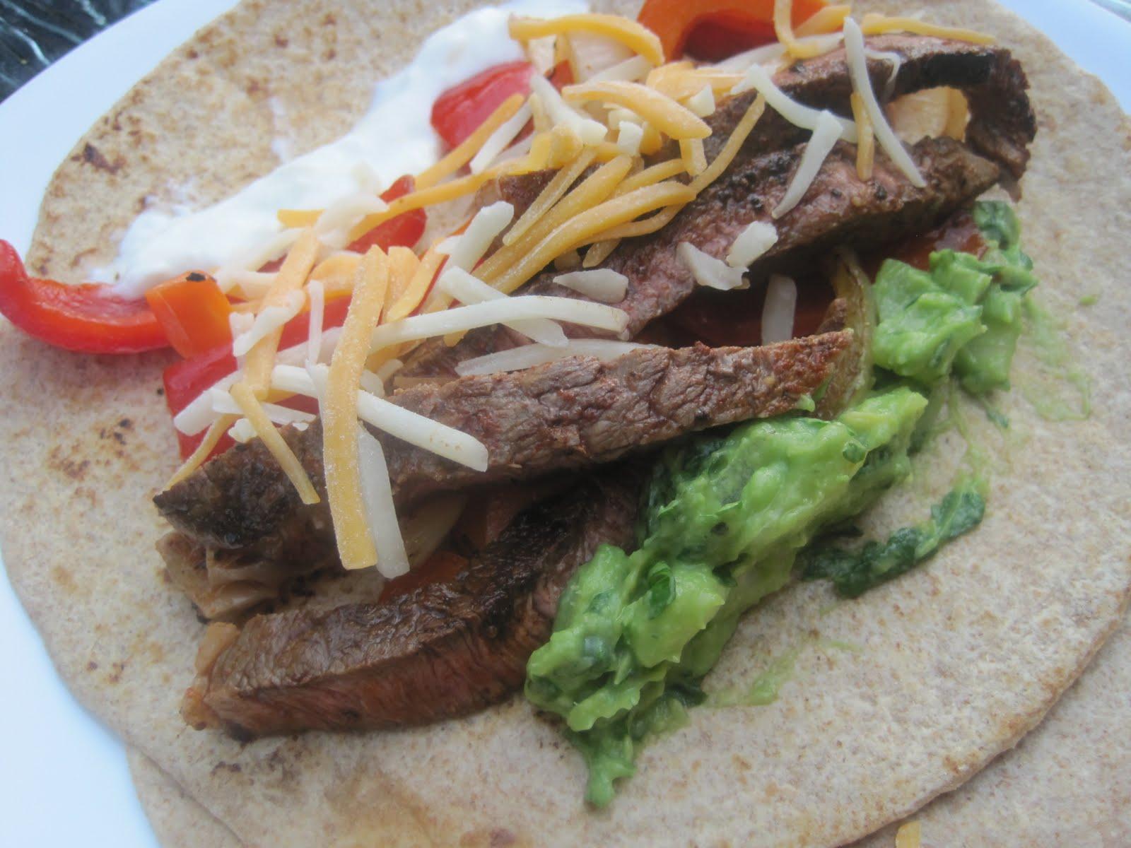 Corcoran Street Kitchen: Lime Marinated Steak Fajitas