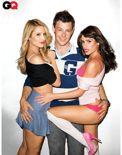 The Glee stars photos,