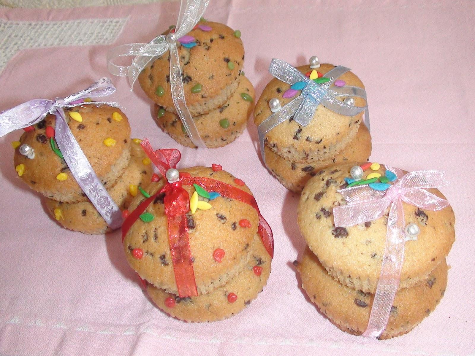 Damla çikolatali minnak muffinler