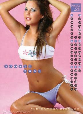 calendario 2009 chicas 21