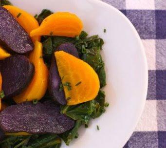 The Gypsy Chef: Golden Beet and Purple Potato Salad