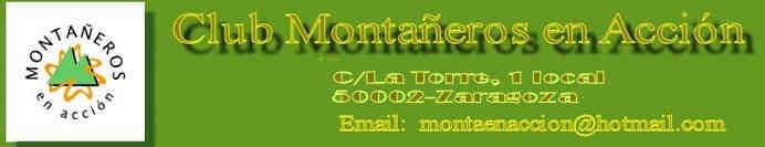 Noticias de Montañeros en Acción