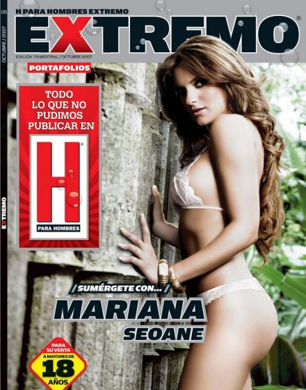 Beautiful Meican Actress Mariana Seoane Nudes In Etremo Pictorial