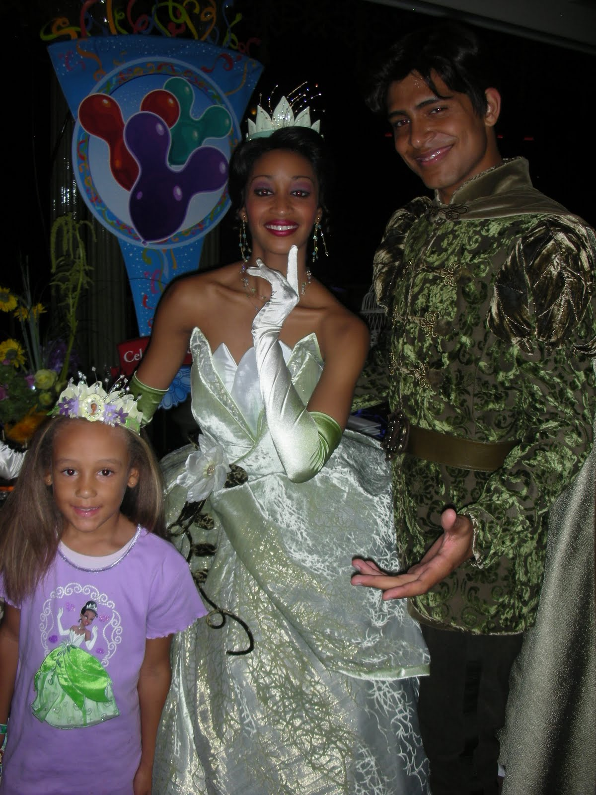 Princess Tiana And Prince Naveen Disneyland