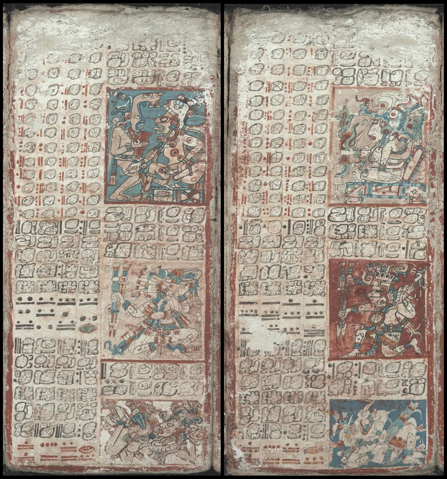 Mayan codex - Tables for the Planet Jupiter