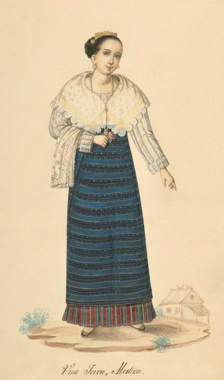 female Philippines costume