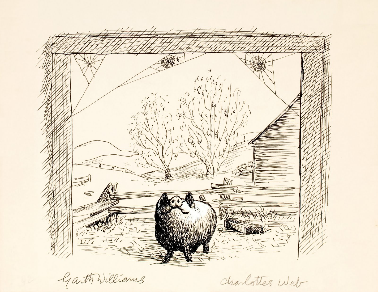 A Letter From E B White Charlotte S Web