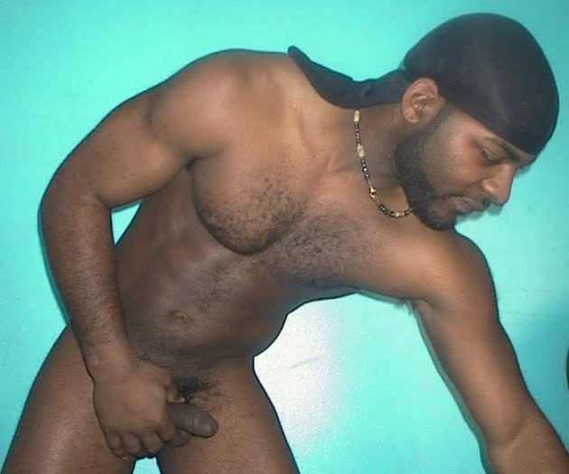 black hairy men nude