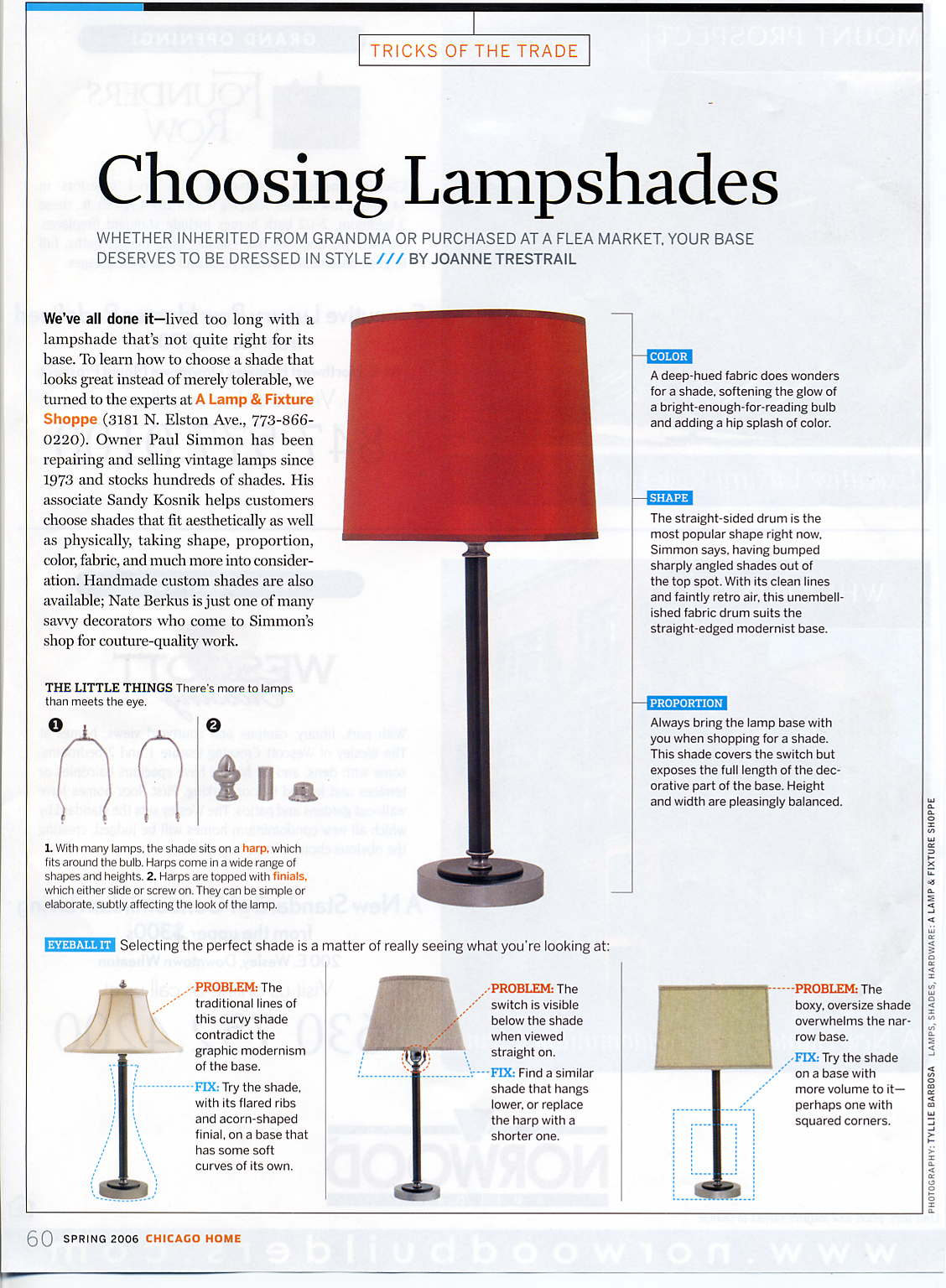 A Lamp And Fixture Shoppe How To Pick A Shade