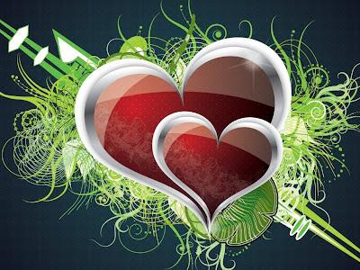 pretty heart designs wallpapers - photo #35