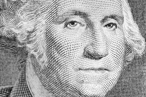 george washington dollar bill art. General Washington had come
