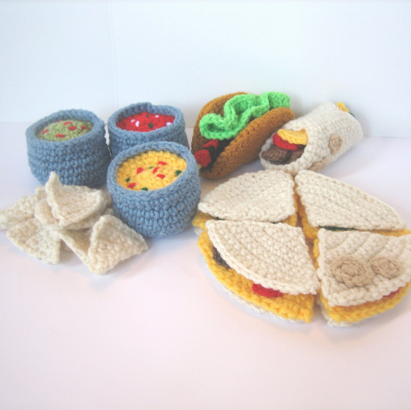 CROCHET N PLAY DESIGNS: New Crochet Pattern: Mexican Food