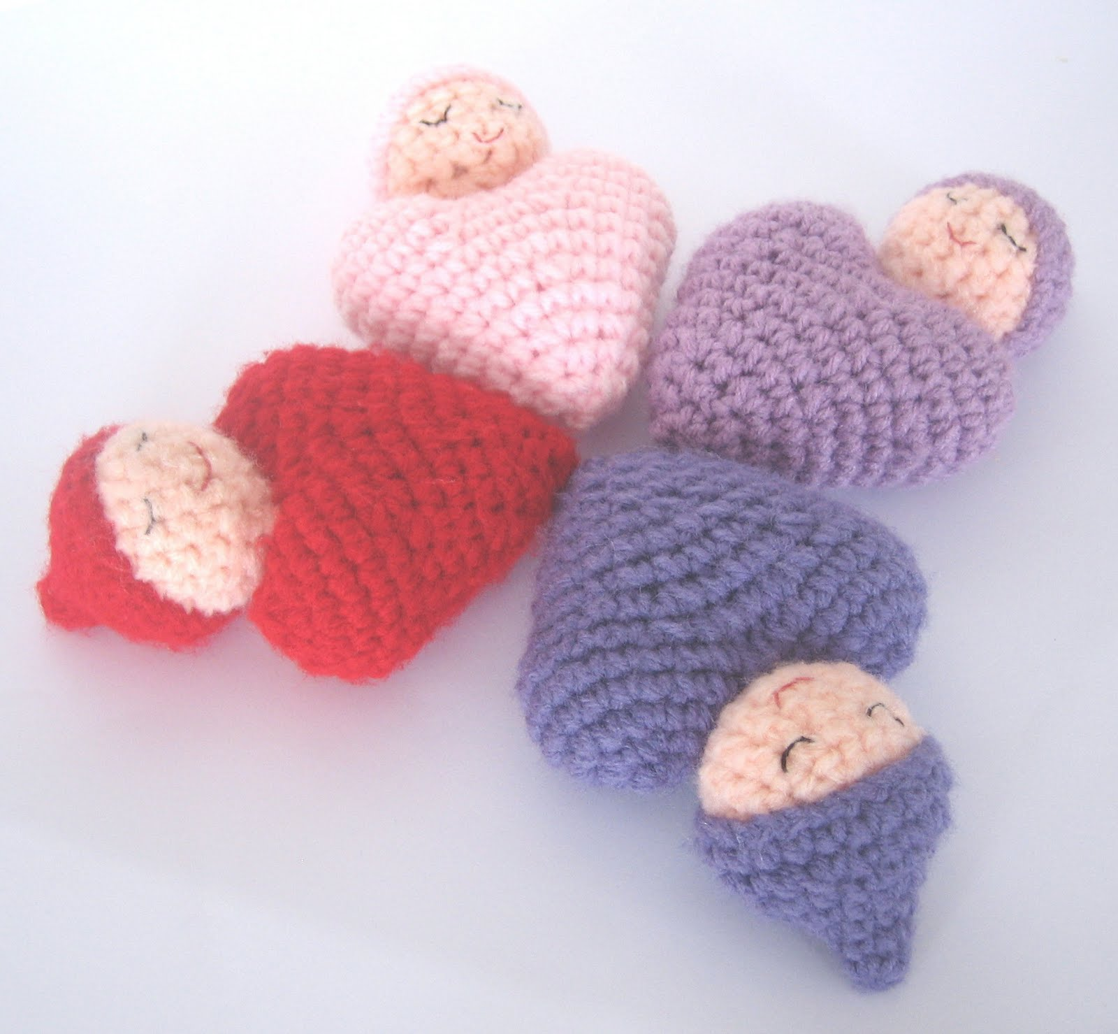CROCHET N PLAY DESIGNS: Free Crochet Pattern: Heart Shaped ...