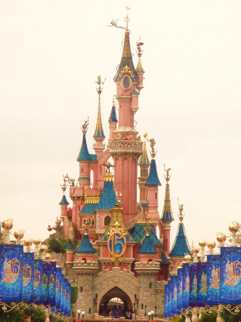 Disneyland resort in paris of france