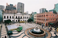 Senado Square of Macau In China