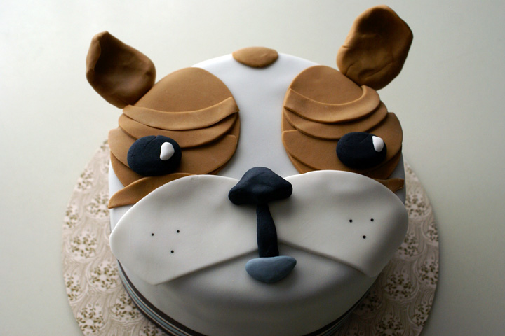 Dog Birthday Cake Vancouver